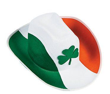 04f8a1bc19285 Shamrock Irish Cowboy Hat – A Touch of Ireland